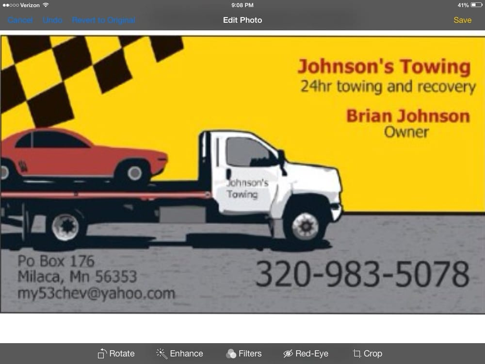 Johnsons Auto Transport & Towing: 15933 70th Ave, Milaca, MN