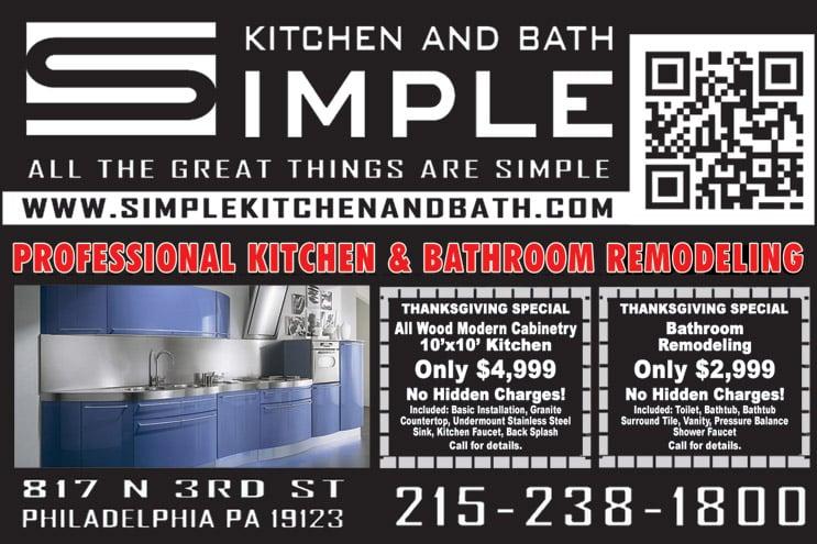 Simple Kitchen And Bath simple kitchen & bath - kitchen & bath - 1204 reed st, passyunk
