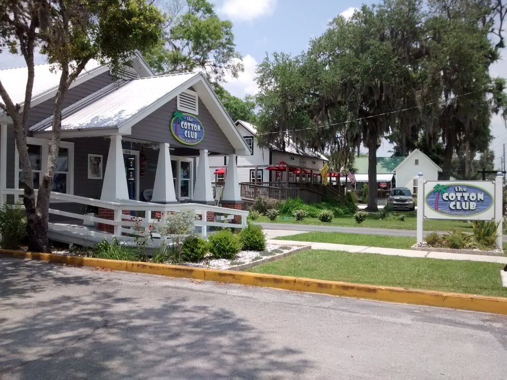 The Cotton Club: 626 N Citrus Ave, Crystal River, FL