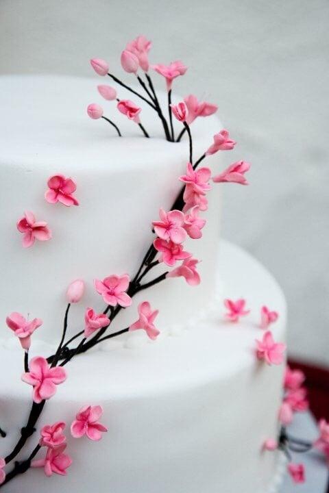 Delicious Cherry Blossom Wedding Cake Yelp