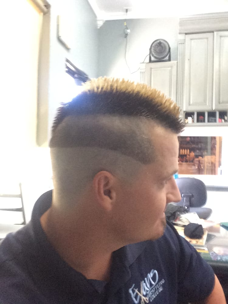 Side shot of the oreo fade. - Yelp