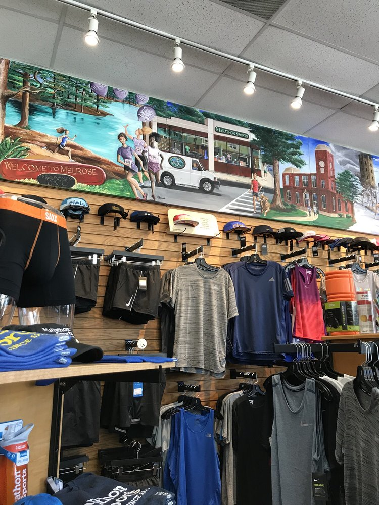 Marathon Sports: 401 Main St, Melrose, MA
