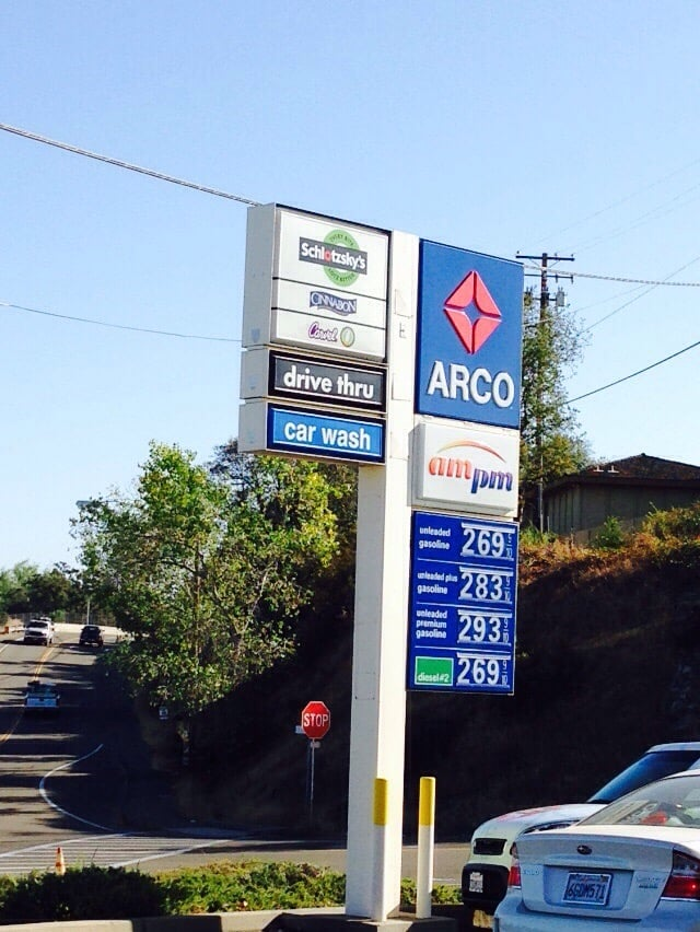 Diesel Gas Stations Near Me >> Arco - Gas Stations - 3025 Forni Rd, Placerville, CA ...