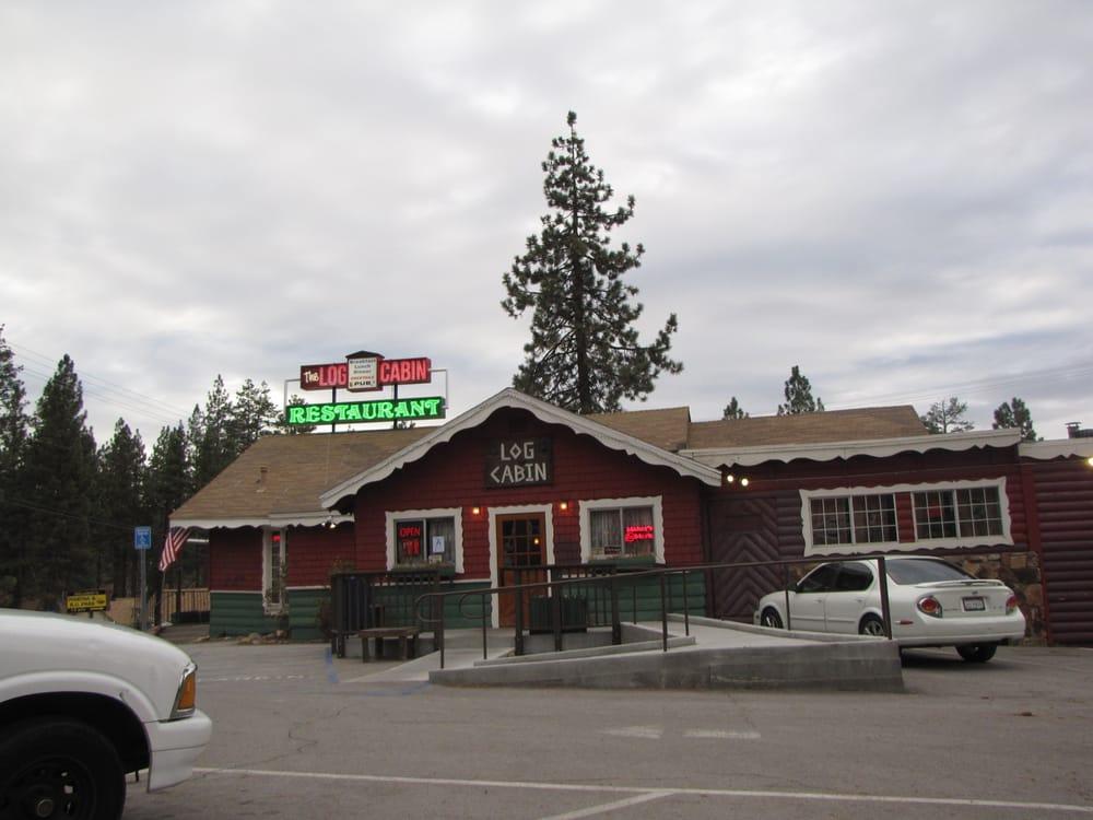 Log cabin restaurant st ngt 102 foton 175 for Cabine di noleggio in big bear ca