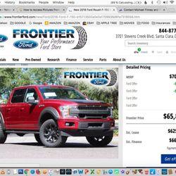Stevens Creek Ford >> Frontier Ford 66 Photos 604 Reviews Car Dealers 3701 Stevens
