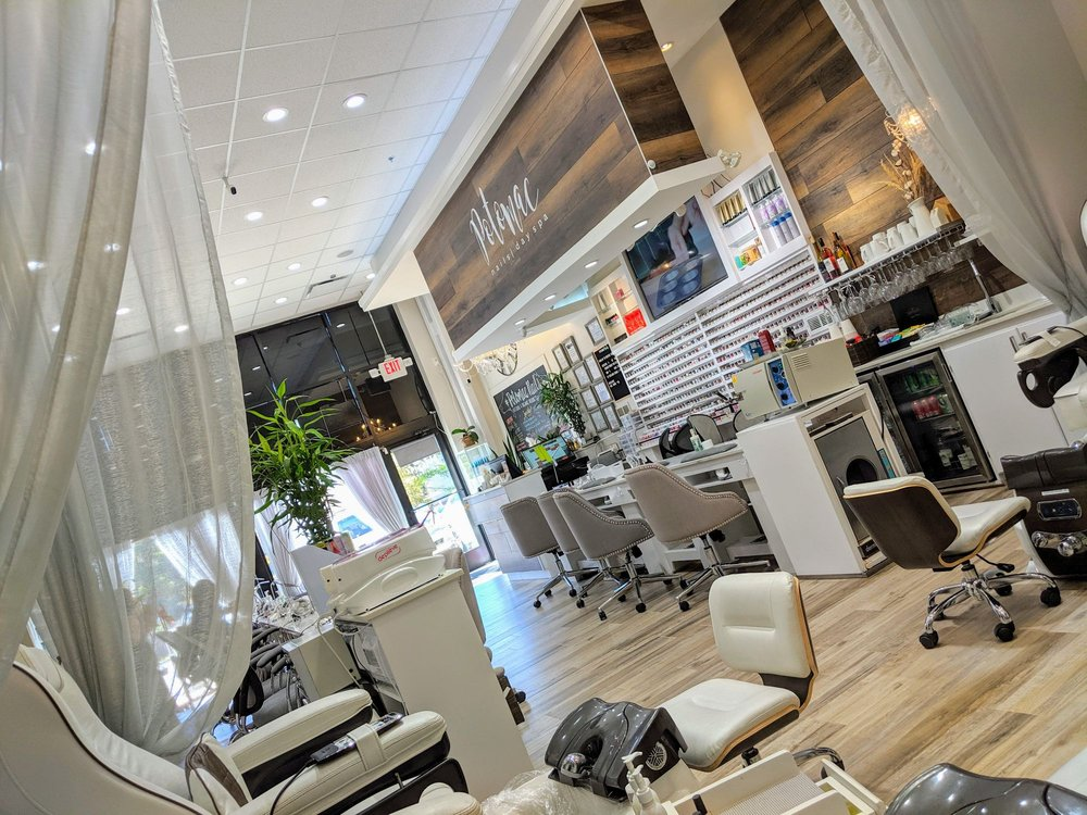 Potomac Nails and Day Spa: 46515 Harry Byrd Hwy, Sterling, VA