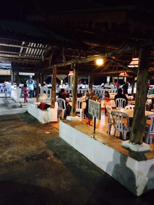 Restoran Terapung HM Sri Bagan - Seafood - Bagan Lalang