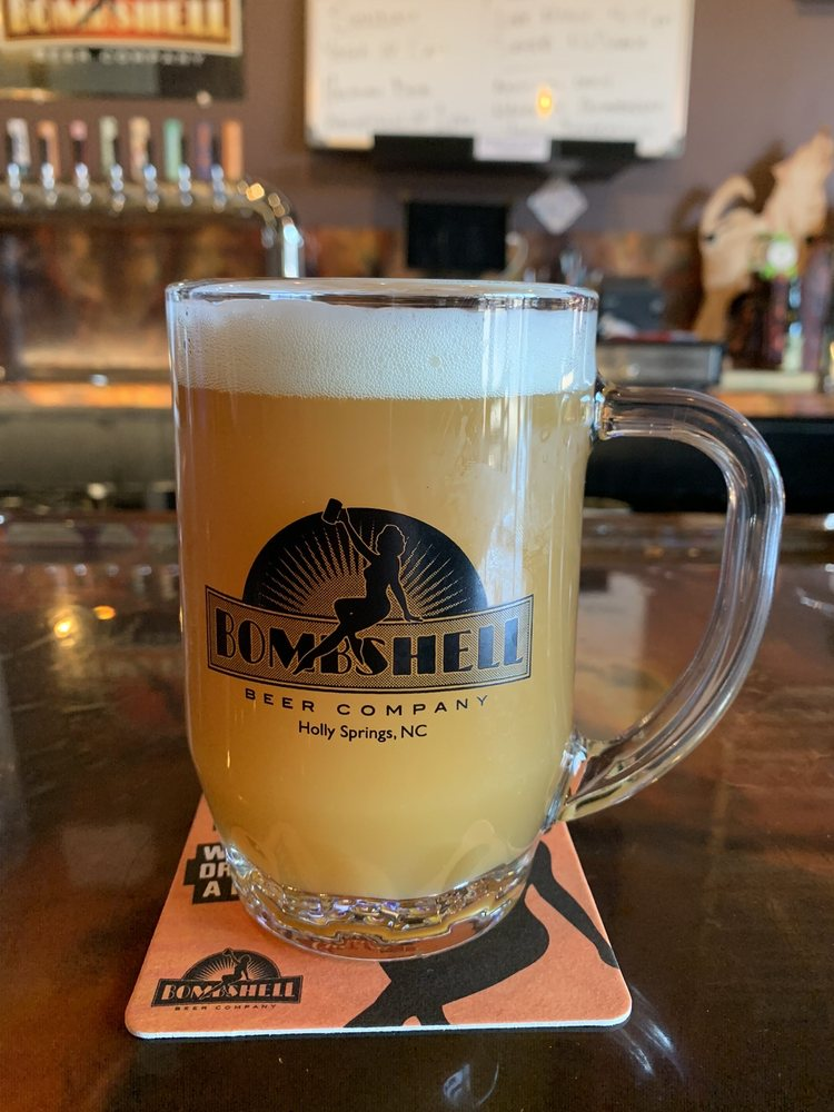 Bombshell Beer Company: 120 Quantum St, Holly Springs, NC