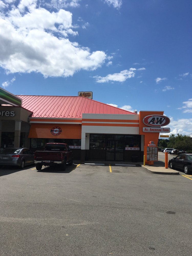 A&W Restaurant: 2204 Pleasant Valley Rd, Pleasant Valley, WV