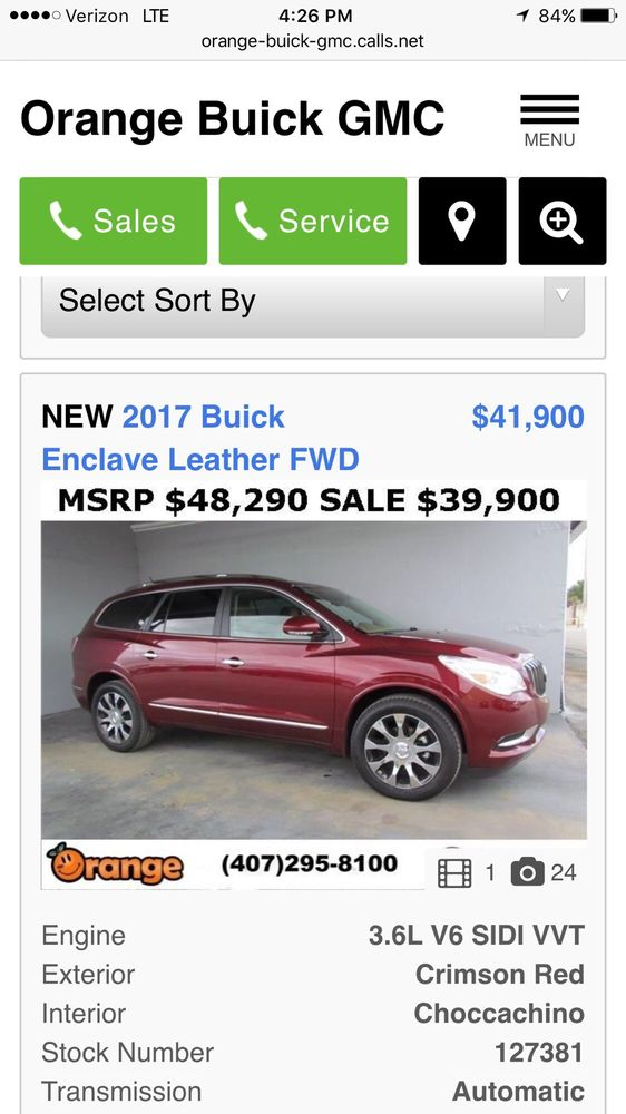 I Get To The Dealership And The Salesman Says The Price Is Wrong - Buick dealer orlando
