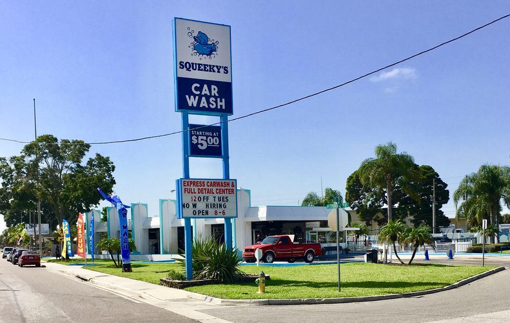 Squeeky's Car Wash: 3264 Tyrone Blvd N, Saint Petersburg, FL