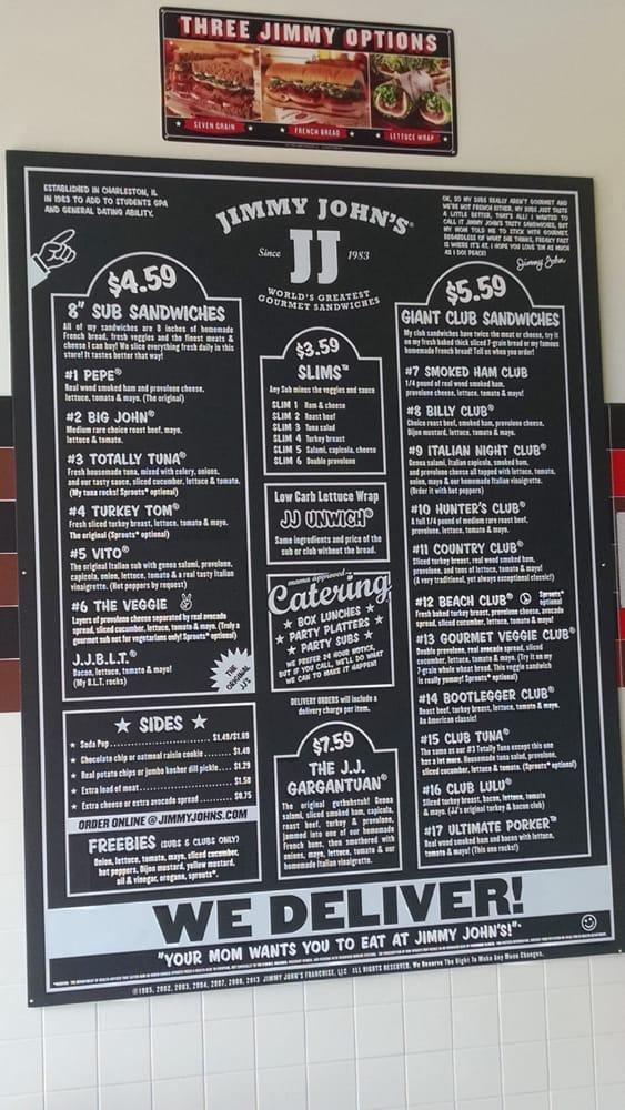 Jimmy John's: 937 29th St SE, Watertown, SD