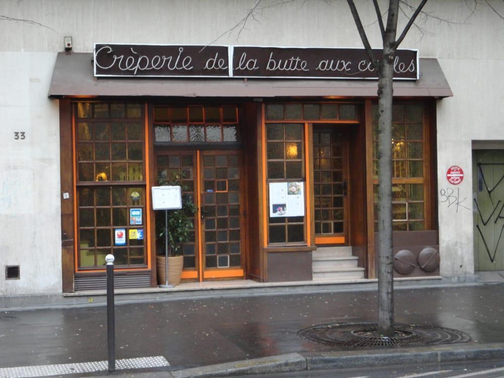 Creperie de la butte aux cailles gesloten pannenkoeken - Restaurant butte aux cailles ...