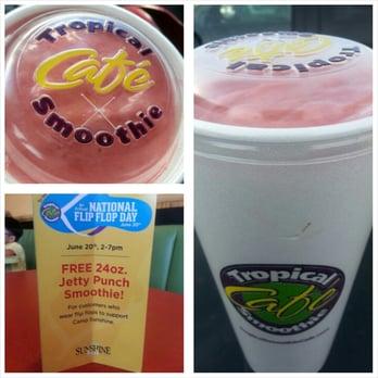 Tropical Smoothie Cafe Menu Tulsa Ok