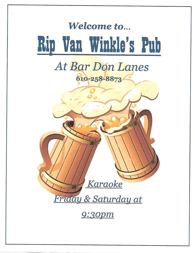 Rip Van Winkle's Pub: 3700 Nicholas St, Easton, PA