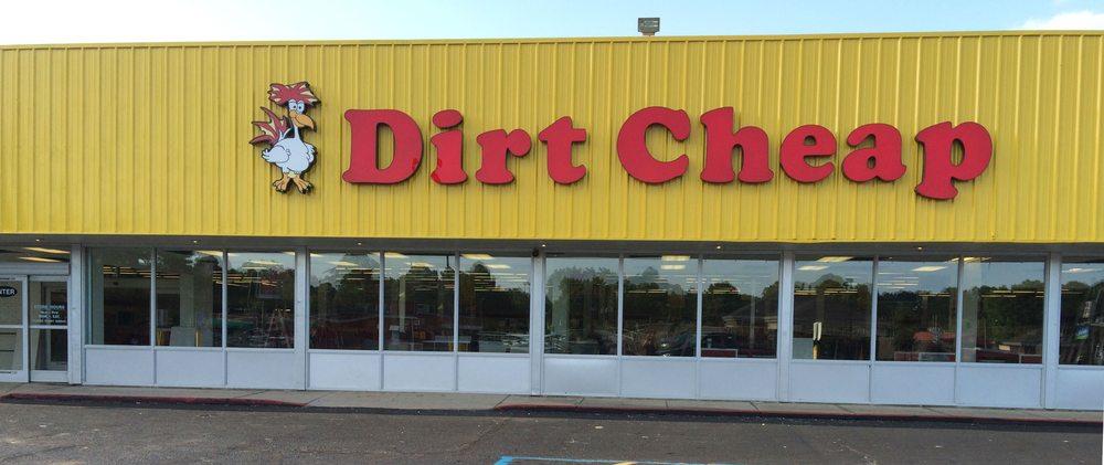 Dirt Cheap: 2702 E. Race Ave., Searcy, AR