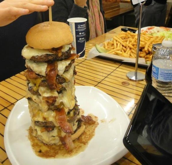 Eagle's Challenge (5lbs of Burger and 5Lbs of fries) - Yelp