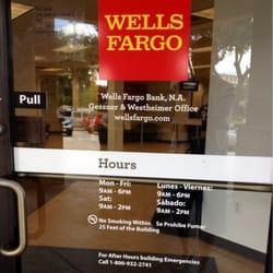 Wells Fargo Bank Hours Of Operation