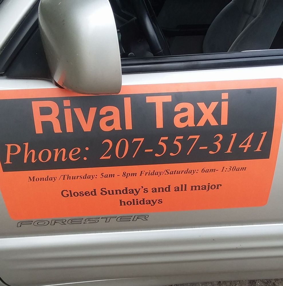 Rival taxi: 310 Water St, Gardiner, ME