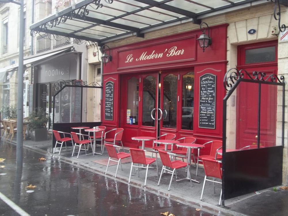 le modern bar fransk 18 avenue thiers bastide bordeaux frankrig restaurantanmeldelser