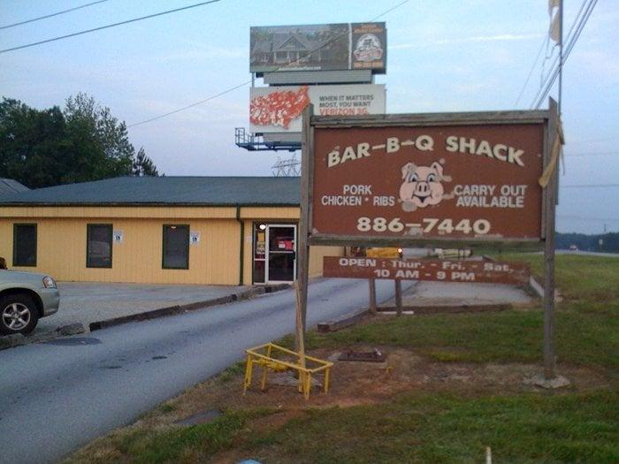 The Barbeque Shack: 4320 Lexington Rd, Athens, GA