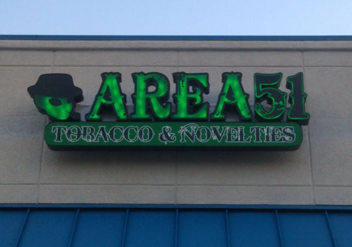 Area 51 Tobacco & Novelties: 2374 E Little Creek Rd, Norfolk, VA