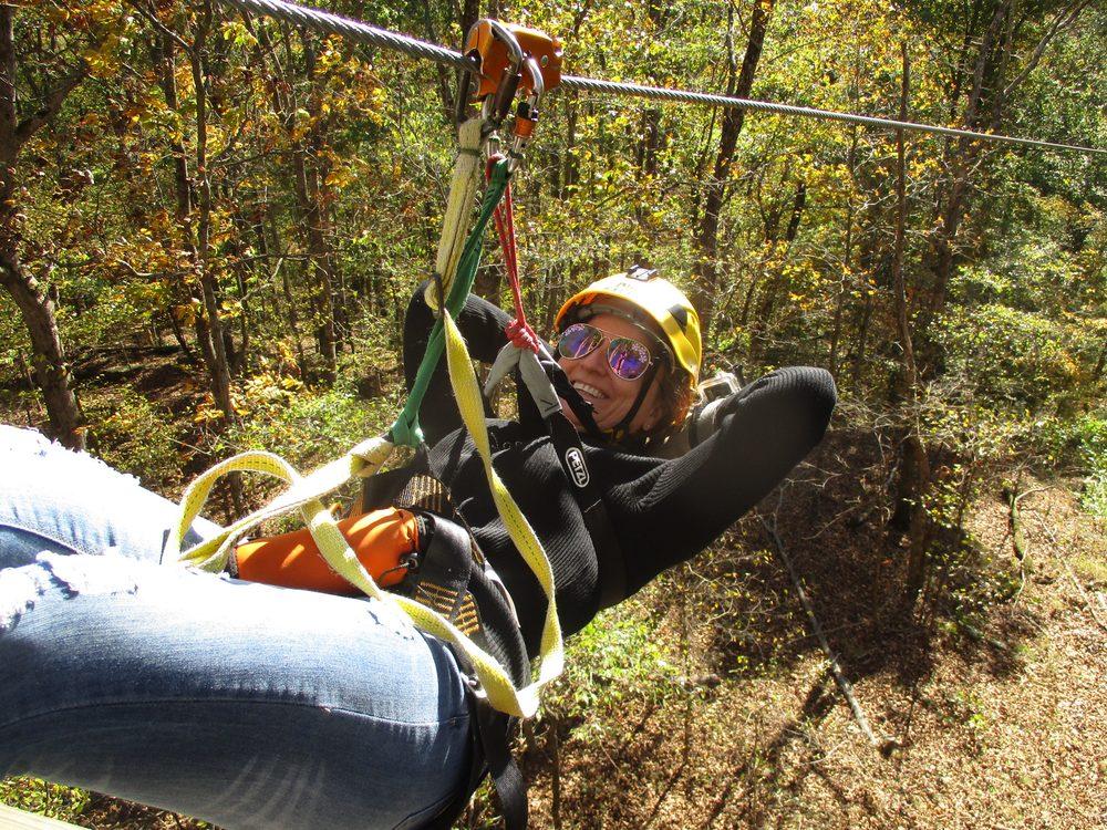 Shawnee Bluffs Canopy Tour: 635 Robinson Hill Rd, Makanda, IL