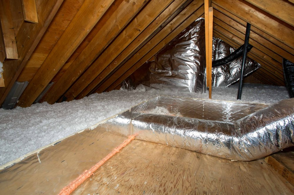A Properly Air Sealed And Insulated Attic Yelp