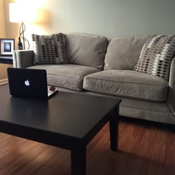 Charmant Photo Of Cort Furniture Rental   Alexandria, VA, United States. Micro Fiber  Tan