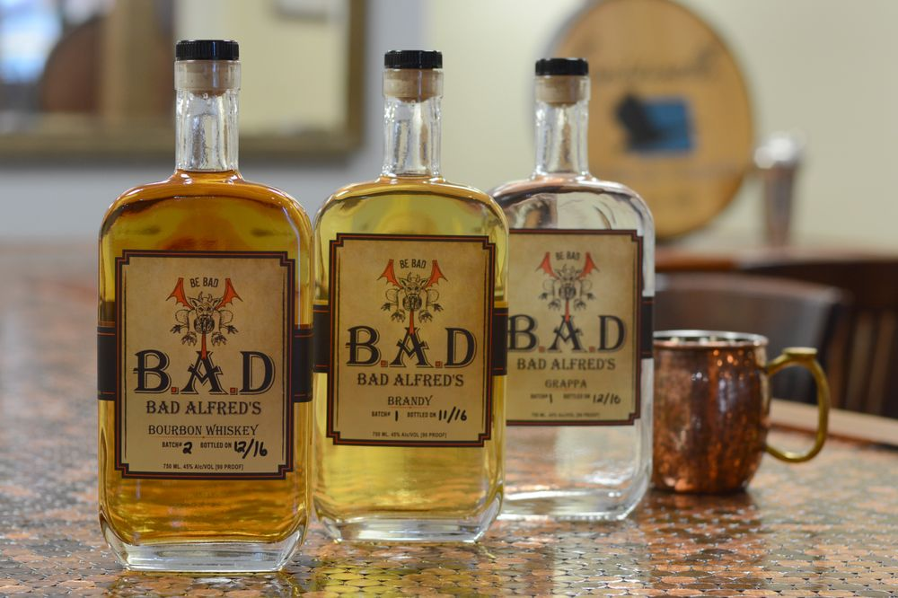 Bad Alfred's Distilling: 323 High St, Chestertown, MD