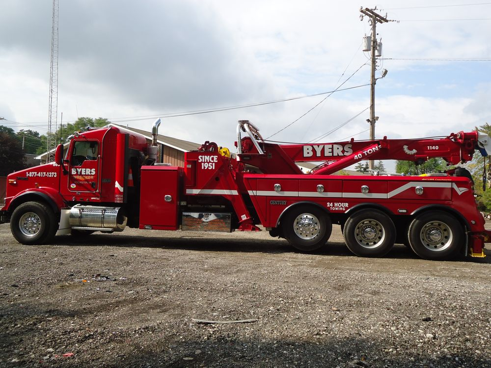 Towing business in Pigeon, IN