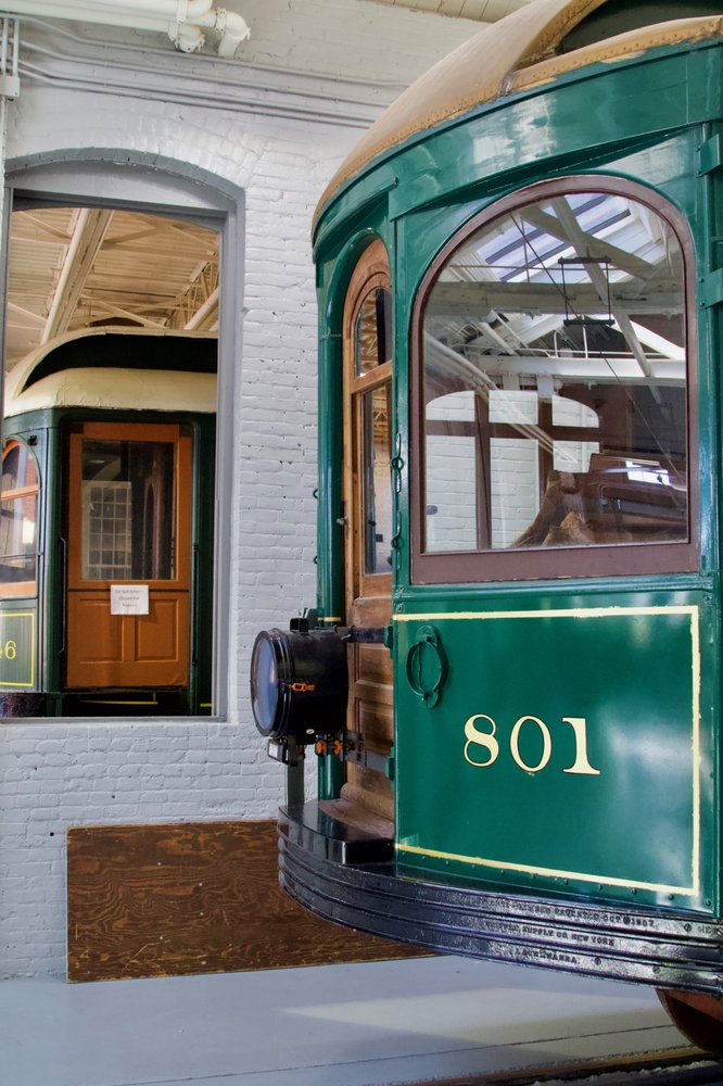 Electric City Trolley Museum: 300 Cliff St, Scranton, PA