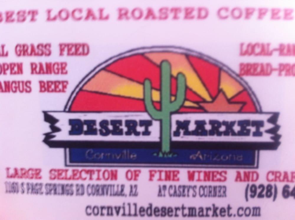 Desert Market: 1160 S Page Springs Rd, Cornville, AZ