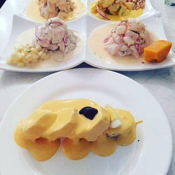 Tetra de Ceviche and papas can feed 4 people - Yelp
