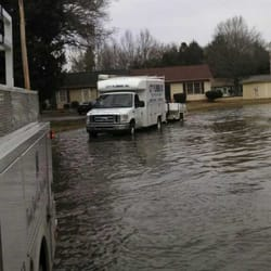 Photo Of Aaa City Plumbing Charlotte Nc United States Flooded Parking Lot