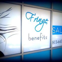 Fringe Benefits Hair Salon logo