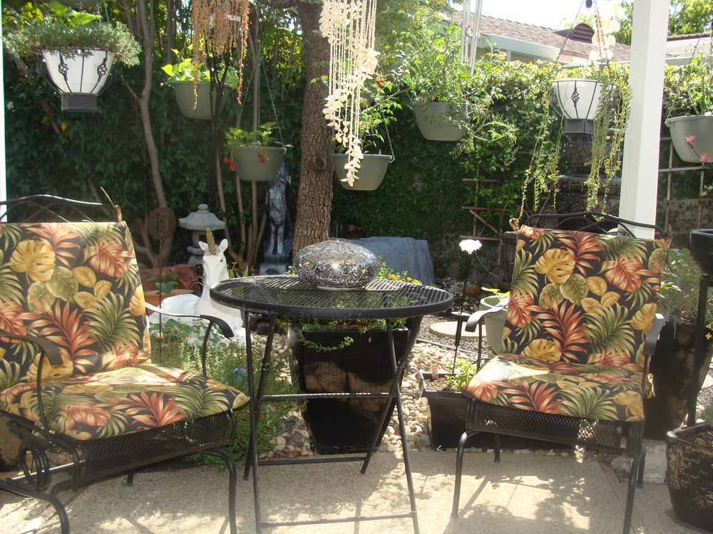 Outdoor Tropical Print Chair Cushions Yelp