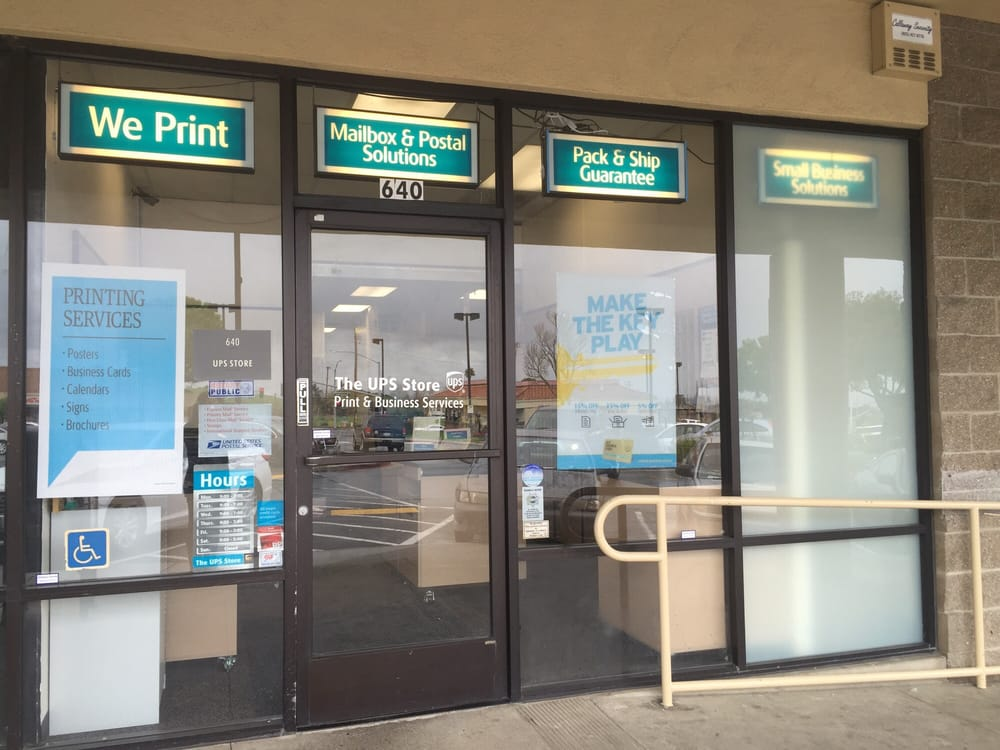 The UPS Store: 640 Bailey Rd, Pittsburg, CA