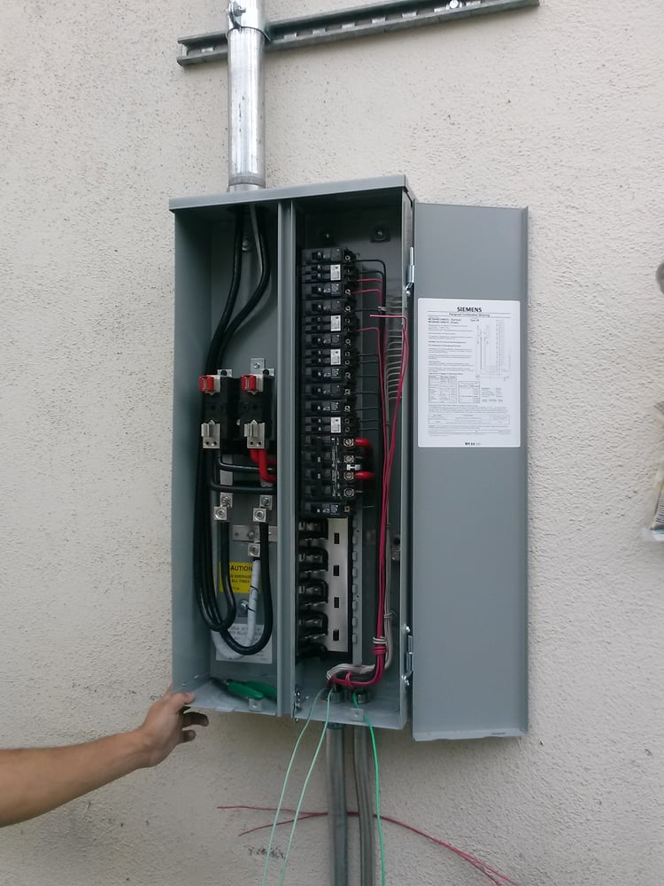 o Upgrading Electrical Panel From To Cost on
