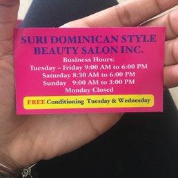 Suri Dominican Style Beauty Salon 12 Photos Hair Salons 108 12