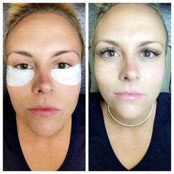 31d45cd1452 Photo of Deka Lash - McMurray, PA, United States. Before and after.