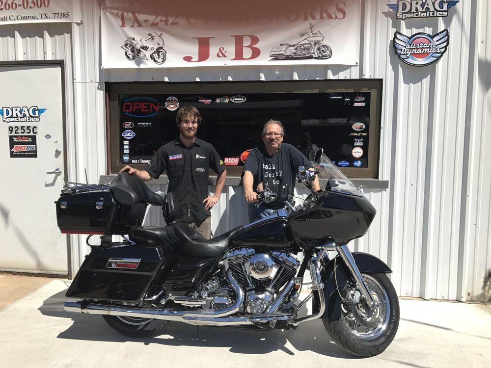 J&B Cycle Works: 9255 Highway 242, Conroe, TX