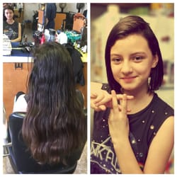 Photo of Y2K Hair Cuts - Vallejo, CA, United States. Before and after