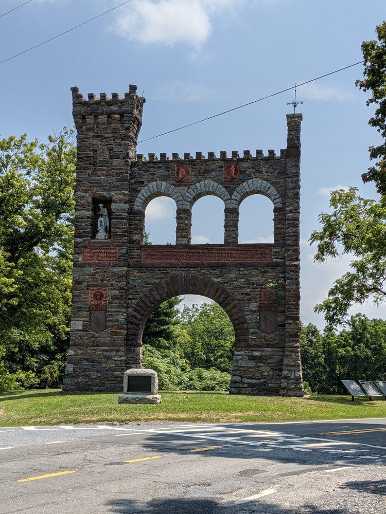 National War Correspondents Memorial: 900 Arnoldtown Rd, Jefferson, MD