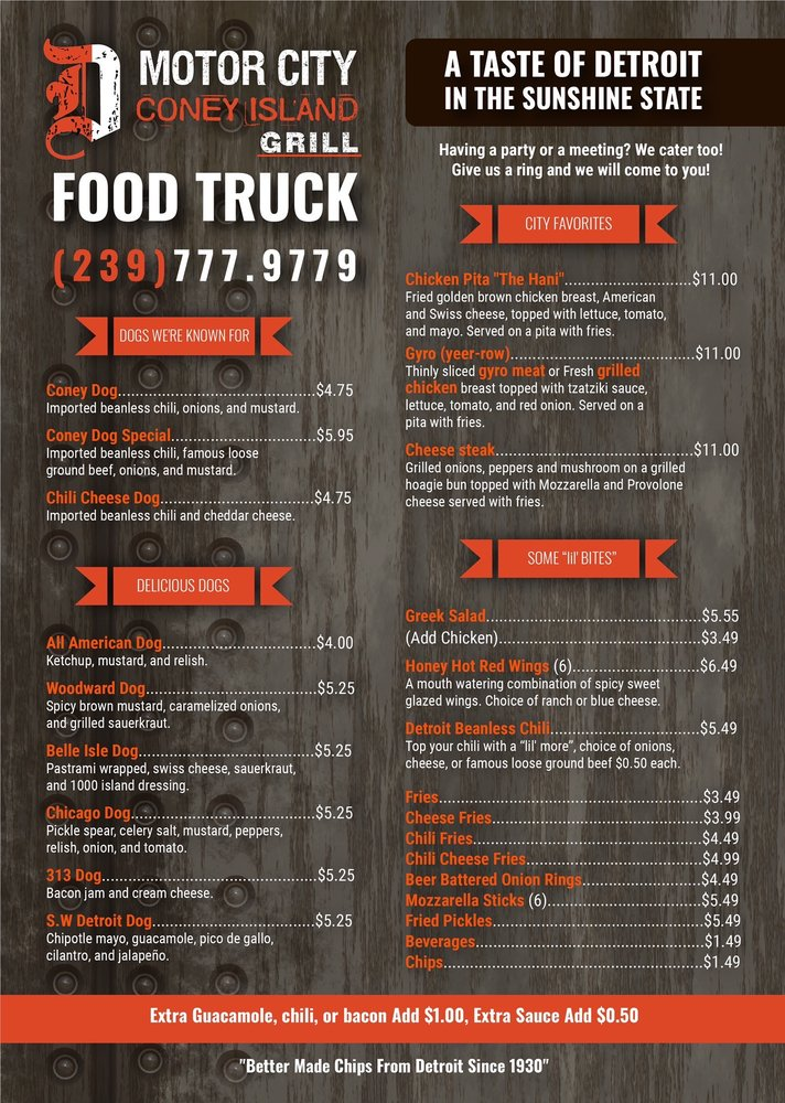 The Motor City Food Truck