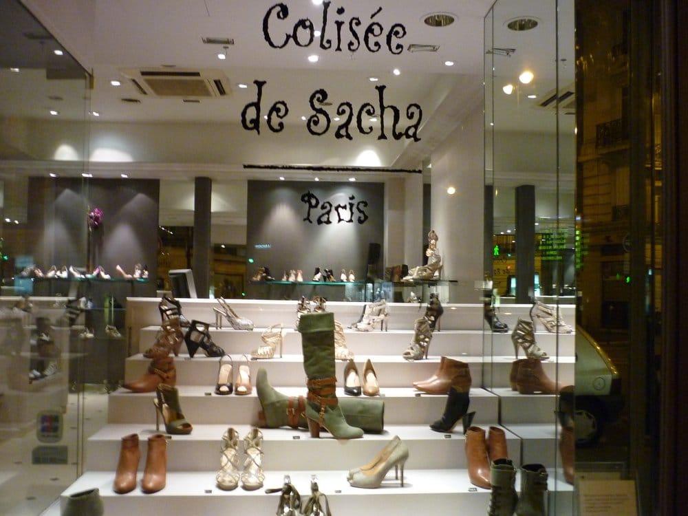 2523cd060b789f Colisée de Sacha - Magasins de chaussures - 64 rue Rennes,  Saint-Germain-Des-Prés, Paris - Numéro de téléphone - Yelp