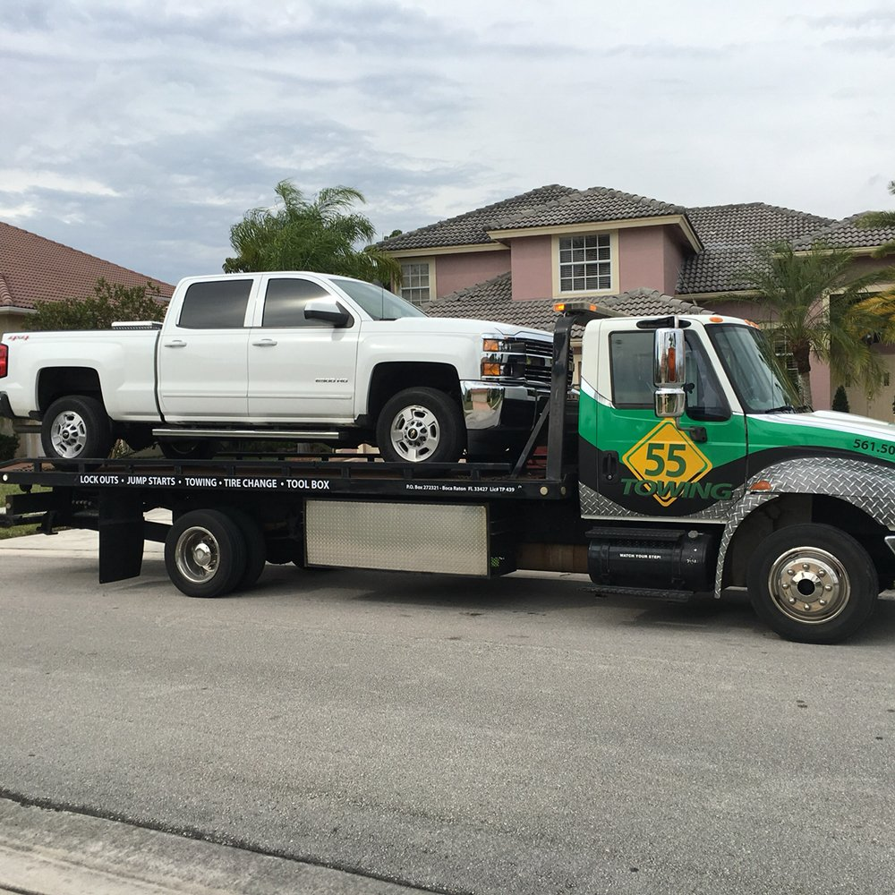 55 Towing: 2645 NW 1st Ave, Boca Raton, FL