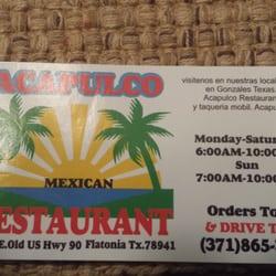 Mexican Restaurants Flatonia Tx