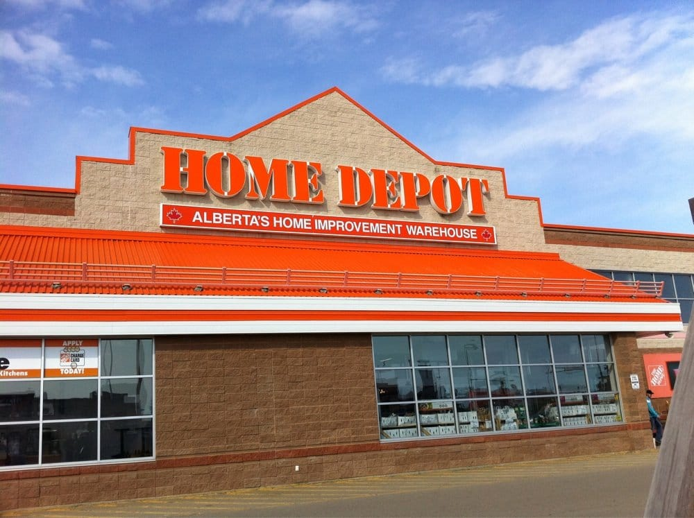 The Home Depot Storcentre 2030 50th Avenue Red Deer