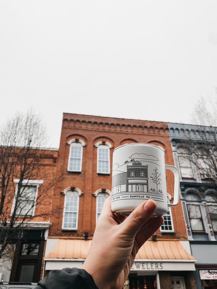 Boil Line Coffee Company: 514 Mill St, Danville, PA